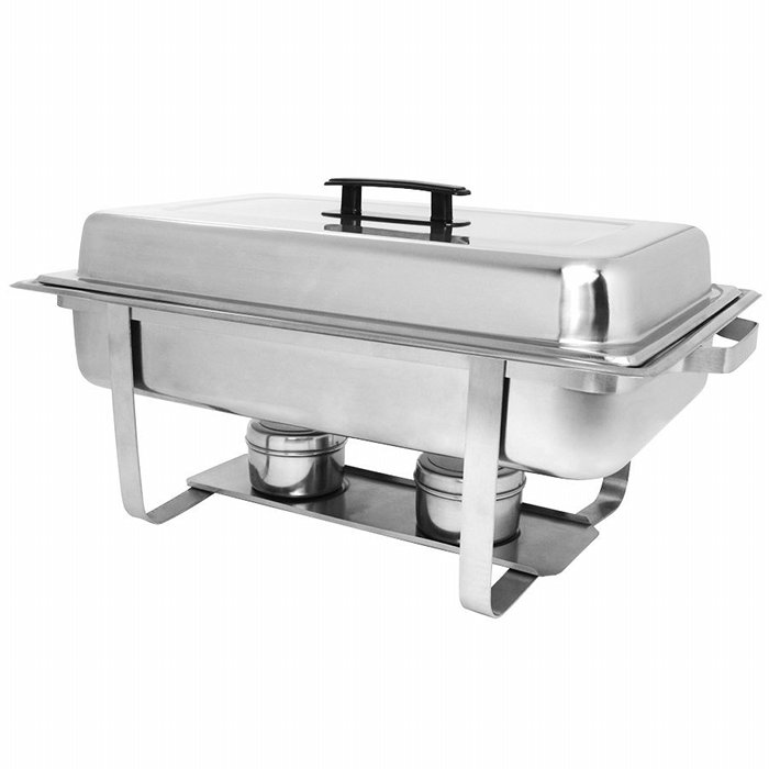 8qt Chafing Dish W Sternos Stainless Steel A Z Rent All