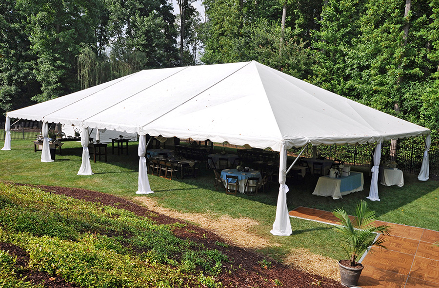 40 X 70 White Frame Tent A Z Rent All